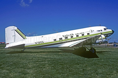 Basler Airlines Douglas DC-3-454 N792G (msn 6314) OSH (Christian Volpati Collection). Image: 911741.