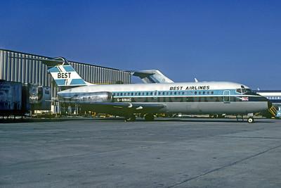 Best Airways Douglas DC-9-15 G-BMAC (N29529) (msn 45739) (British Midland colors) MIA (Bruce Drum). Image: 104081.