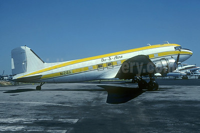 Bo-S-Aire Airlines Douglas C-47A-DL (DC-3) N12BA (msn 10035) ORD (Christian Volpati Collection). Image: 946326.
