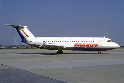 Braniff Airways (2nd) BAC 1-11 201AC N106EX (msn 013) (Christian Volpati Collection). Image: 939497.