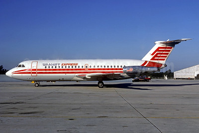 Braniff Express (Florida Express) BAC 1-11 203AE N1136J (msn 071) (Florida Express colors) MCO (Christian Volpati Collection). Image: 939498.
