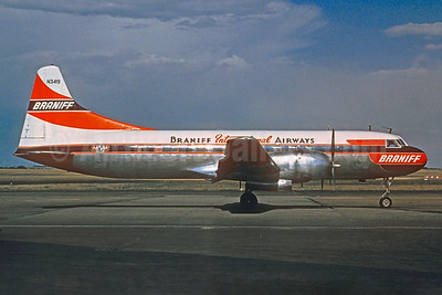 Braniff International Airways (1st) Convair 340-32 N3419 (msn 62) (Christian Volpati Collection). Image: 925392.