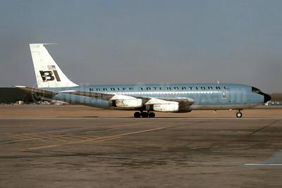 Braniff International Airways (1st) Boeing 720-027 N7080 (msn 18581) DAL (Bruce Drum). Image: 105579.