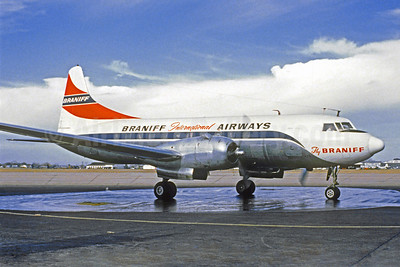 Braniff International Airways (1st) Convair 340-32 N3426 (msn 81) DAL (Mel Lawrence - Christian Volpati Collection). Image: 922552.