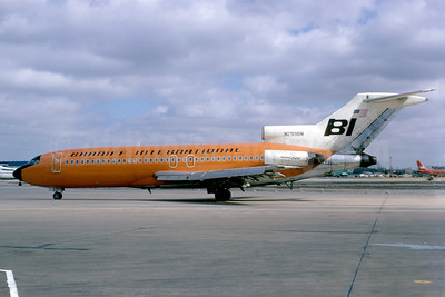 Braniff International Airways (1st) Boeing 727-191 N299BN (msn 19393) DAL (Bruce Drum). Image: 102306.