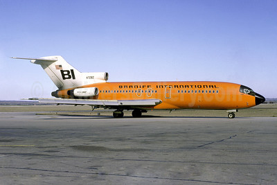 Braniff International Airways (1st) Boeing 727-162 N7282 (msn 19243) SAT (Manuel Delgado - Christian Volpati Collection). Image: 907989.