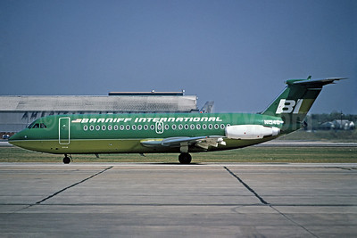 Braniff International Airways (1st) BAC 1-11 203AE N1548 (msn 042) DAL (Bruce Drum). Image: 102320.