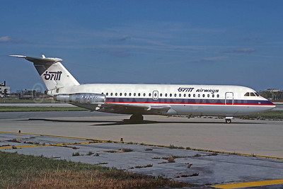 Britt Airways BAC 1-11 416EK N390BA (msn 129) ORD (Christian Volpati Collection). Image: 932736.