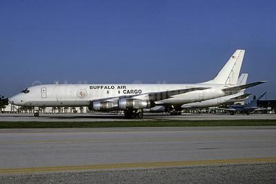 Buffalo Air Cargo (Buffalo Airways McDonnell Douglas DC-8F-54 Jet Trader N925BV (msn 45885) MIA (Bruce Drum). Image: 103657.