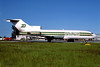 Burlington Air Express Boeing 727-21C N1186Z (msn 19134) MIA (Bruce Drum). Image: 102493.