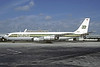 Burlington Air Express Boeing 707-338C N862BX (msn 19625) MIA (Bruce Drum). Image: 102437.