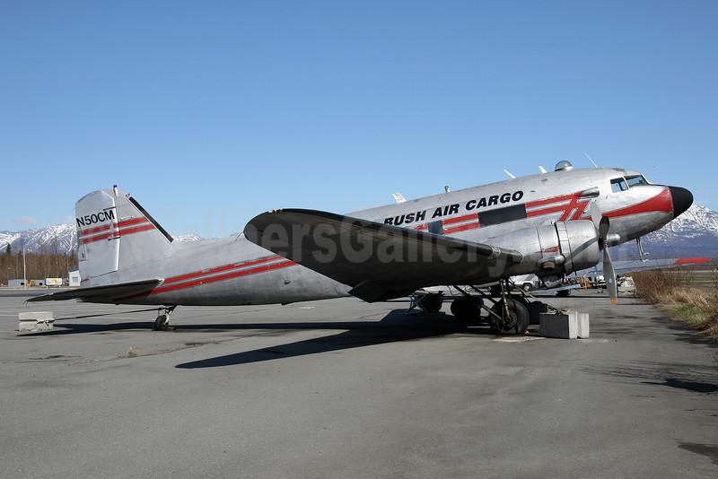 Bush Air Cargo Douglas C-47A-DK (DC-3) N50CM (msn 13445) PAQ (Brian McDonough). Image: 930186.