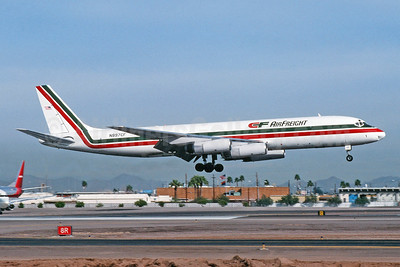 CF Air Freight McDonnell Douglas DC-8-62AF N997CF (msn 46154) PHX (Jay Selman). Image: 403948.