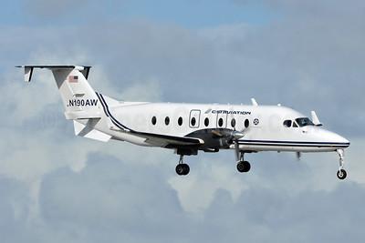 CSI Aviation Beechcraft 1900D N190AW (msn UE-382) FLL (Tony Storck). Image: 948863.