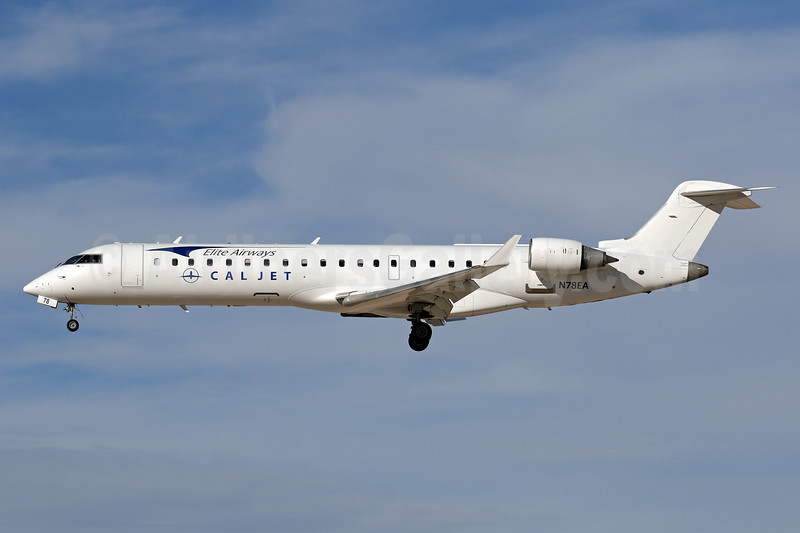 Cal Jet - Elite Airways Bombardier CRJ700 (CL-600-2C10) N78EA (msn 10103) CRQ (James Helbock). Image: 940079.