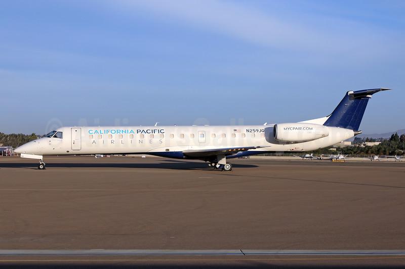 California Pacific Airlines Embraer ERJ 145ER (EMB-145ER) N259JQ (msn 145763) (Delta Connection colors) CRQ (James Helbock). Image: 944289.