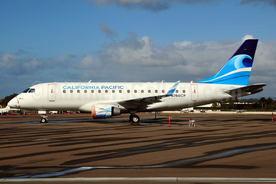 California Pacific Airlines Embraer ERJ 170-100LR N760CP (msn 17000006) CLD (Ton Jochems). Image: 910512.