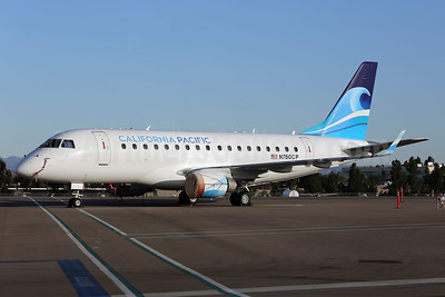 California Pacific Airlines Embraer ERJ 170-100LR N760CP (msn 17000006) CLD (James Helbock). Image: 912597.