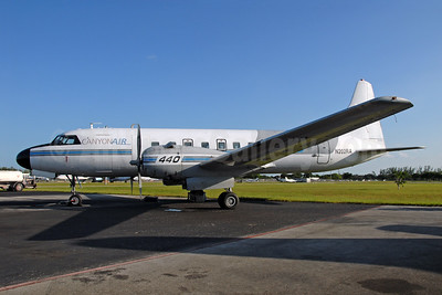 Canyon Air (Renown Aviation) Convair 440-98 N202RA (msn 497) OPF (Dave Campbell). Image: 904170.