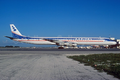 Capitol International Airways McDonnell Douglas DC-8-61 N8763 (msn 46037) MIA (Bruce Drum). Image: 103083.