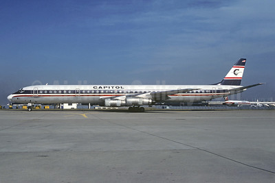 Capitol International Airways McDonnell Douglas DC-8-61 N911CL (msn 45981) ORY (Christian Volpati). Image: 936885.