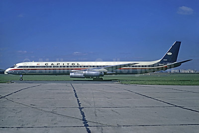 Capitol International Airways McDonnell Douglas DC-8-63CF N4908C (msn 45968) LBG (Christian Volpati). Image: 936886.