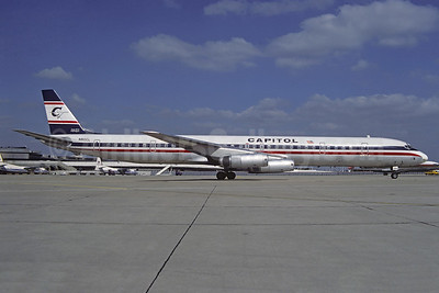 Capitol International Airways McDonnell Douglas DC-8-63CF N910CL (msn 46094) ORY (Christian Volpati). Image: 936891.