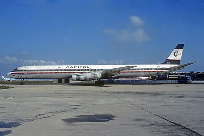 Capitol International Airways McDonnell Douglas DC-8-61 N8765 (msn 46016)  ORY (Christian Volpati). Image: 941602.