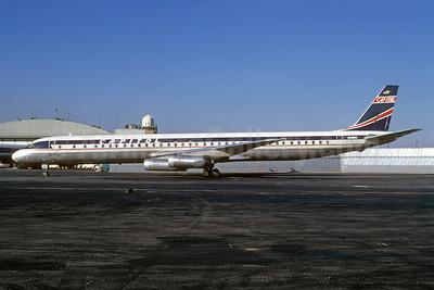 Capitol International Airways McDonnell Douglas DC-8-63CF N4910C (msn 46094) JFK (Bruce Drum). Image: 103086.