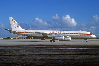 Capitol International Airways McDonnell Douglas DC-8-62 N923CL (msn 46134) MIA (Bruce Drum). Image: 103085.