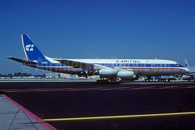 Capitol International Airways McDonnell Douglas DC-8-31 N905CL (msn 45274) MIA (Bruce Drum). Image: 103080.
