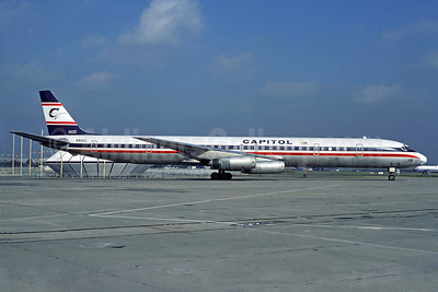 Capitol International Airways McDonnell Douglas DC-8-63CF N910CL (msn 46094) LBG (Christian Volpati). Image: 907089.