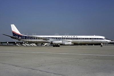 Capitol International Airways McDonnell Douglas DC-8-63CF N864F (msn 46087) ORY (Christian Volpati). Image: 920954.