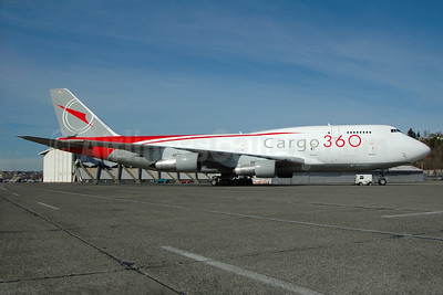 Cargo 360 Boeing 747-3B5 (F) N301JD (msn 24194) BFI (Royal S. King). Image: 935222.