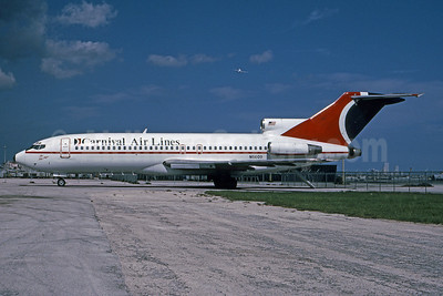 Carnival Air Lines Boeing 727-51 N5609 (msn 18806) MIA (Bruce Drum). Image: 101379.