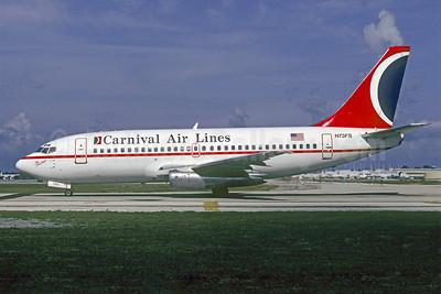 Carnival Air Lines Boeing 737-205 N73FS (msn 21765) FLL (Christian Volpati). Image: 904569.