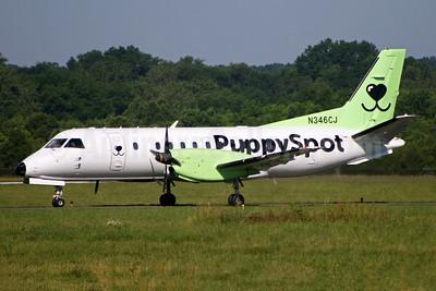 PuppySpot (Castle Aviation) SAAB 340B N346CJ (msn 346) HEF (Brian McDonough). Image: 954075.