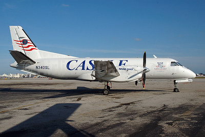 Castle Aviation SAAB 340A (F) N340SL (msn 069) MIA (Bruce Drum). Image: 100534.