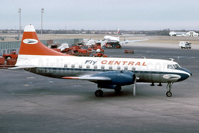 Central Airlines Convair 240-0 N74855 (msn  46) DAL (Mel Lawrence - Fernandez Imaging Collection). Image: 925580.