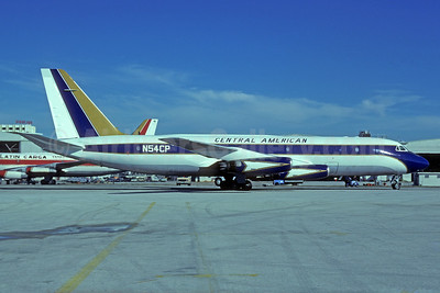 Central American International Convair 880-22M-3 N54CP (msn 22-00-46M) MIA (Bruce Drum). Image: 103667.