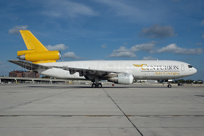 Centurion Air Cargo McDonnell Douglas DC-10-30 (F) N47888 (msn 47888) MIA (Bruce Drum). Image: 101328.