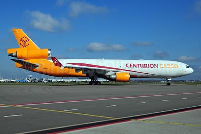 Centurion Cargo McDonnell Douglas MD-11 (F) N986AR (msn 48426) AMS (Ton Jochems). Image: 906627.