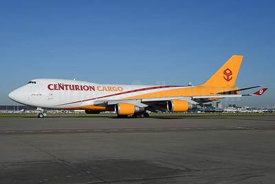 Centurion Cargo Boeing 747-4R7F N901AR (msn 25868) AMS (Ton Jochems). Image: 922103.