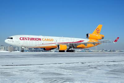 Centurion Cargo McDonnell Douglas MD-11 (F) N985AR (msn 48430) AMS (Ton Jochems). Image: 907778.