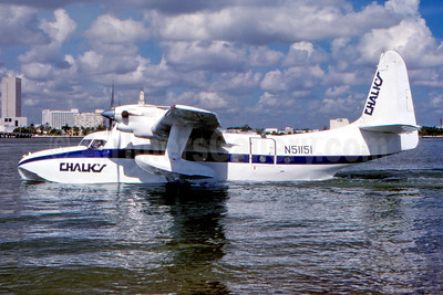 Chalk's International Airlines Grumman G-73T Turbo Mallard N51151 (msn J-42) MPB (Eddy Gual - Fernandez Imaging Collection). Image: 941651.