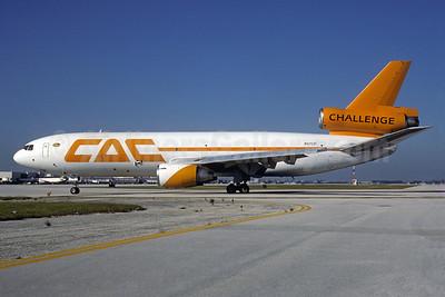 Challenge Air Cargo-CAC McDonnell Douglas DC-10-40 (F) N157DM (msn 46920) MIA (Bruce Drum). Image: 103286.
