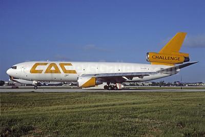 Challenge Air Cargo-CAC McDonnell Douglas DC-10-40 (F) N141WE (msn 46661) MIA (Bruce Drum). Image: 103285.