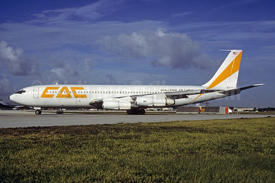 Challenge Air Cargo-CAC Boeing 707-323C N8402 (msn 19582) MIA (Bruce Drum). Image: 103214.