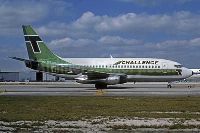 Challenge International Airlines (Transavia Airlines) Boeing 737-222 PH-TVH (msn 19955) (Transavia colors) MIA (Bruce Drum). Image: 103213.