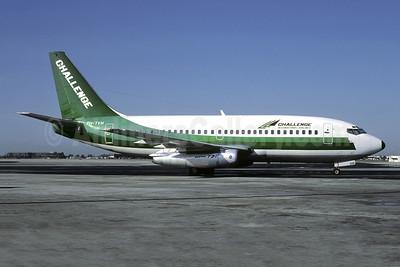 Challenge International Airlines (Transavia Airlines) Boeing 737-222 PH-TVH (msn 19955) (Transavia colors) MIA (Bruce Drum). Image: 103216.